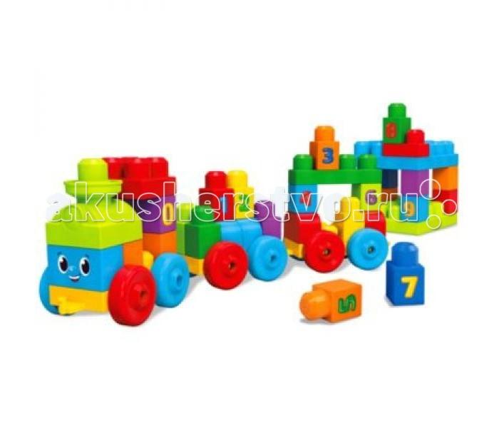 Конструктор Mega Bloks First Builders Поезд Учимся считатьFirst Builders Поезд Учимся считатьКонструктор Mega Bloks First Builders Поезд Учимся считать направлен не просто на построение поезда, но и обучение ребенка умению считать. Конструктор выполнен из качественных материалов и безопасен для детей. Яркие тона деталей также могут помочь в определении цвета, а улыбающийся паровозик покажется всем очень дружелюбным. Сборка данной игрушки будет интересным и увлекательным занятием.<br>
