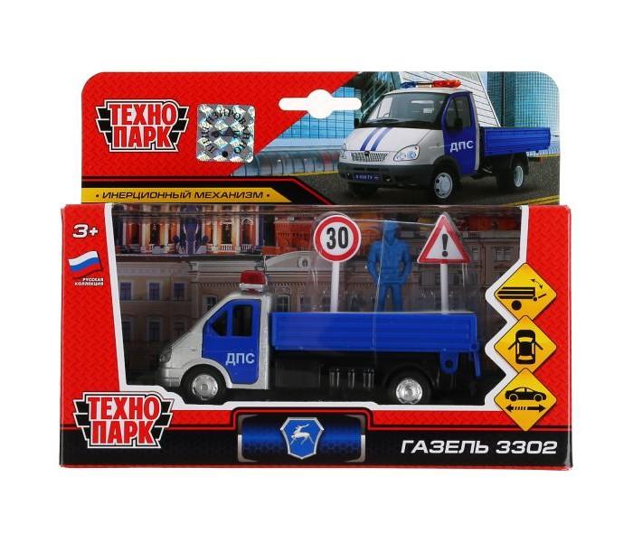 Купить Машины, Технопарк Машина ГАЗель 3302 Полиция с аксессуарами 12 см