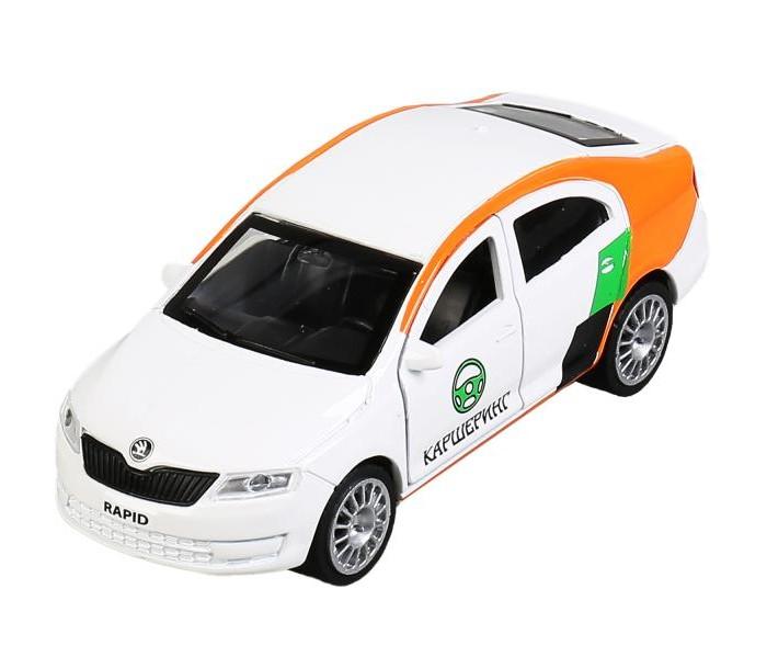 Купить Машины, Технопарк Машина Skoda Rapid Каршеринг 12 см