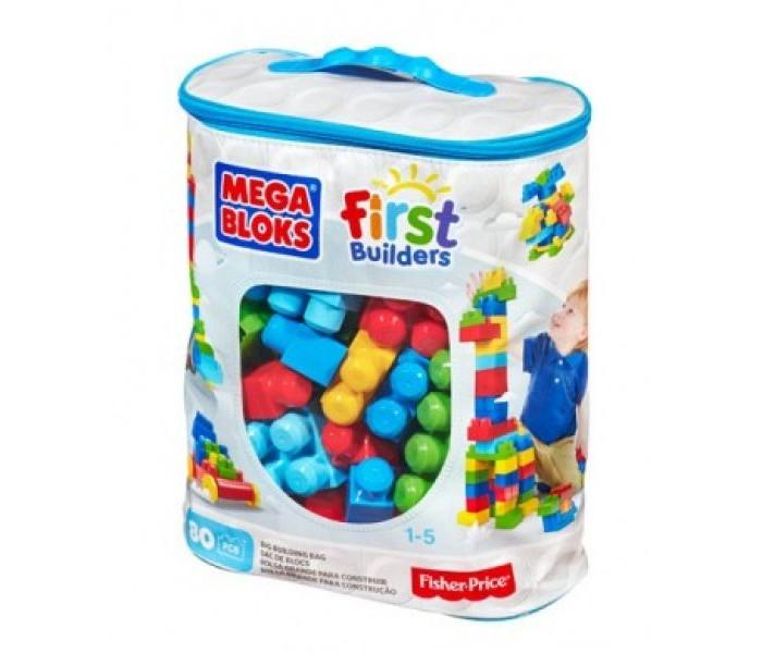 Конструктор Mega Bloks First Builders Большой конструктор 80 деталей