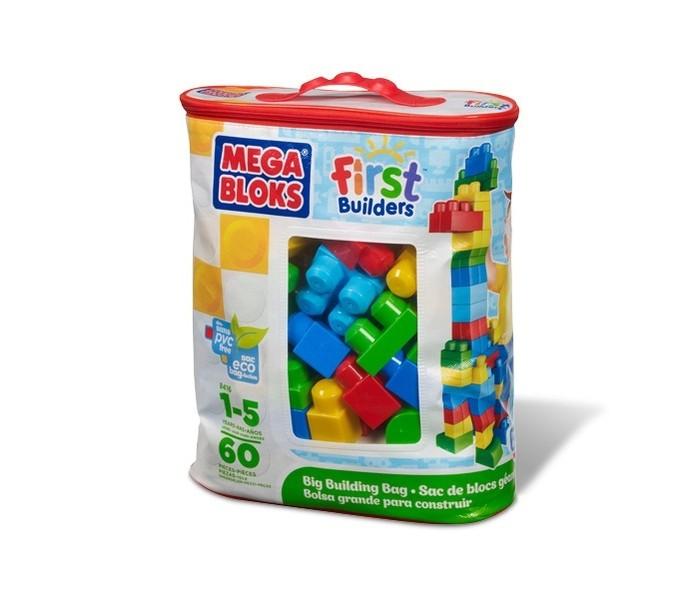 Конструктор Mega Bloks First Builders Большой конструктор 60 деталей