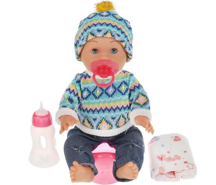 Куклы и одежда для кукол Карапуз Пупс озвученный Барбарики Сашенька 35 см