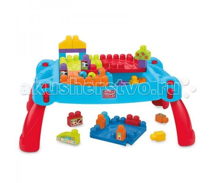 Конструктор Mega Bloks Строй и развлекайсяСтрой и развлекайсяКонструктор-стол Mega Bloks Строй и развлекайся  Столик-конструктор превращается в удобную платформу, которая имеет разноцветные пути, арки для приключений и элементы с интересными формами и наклейками.  Игровой набор создан для легкого переноса и хранения игрушек и идеально подходит для активных детей.  Игра с конструктором Mega Bloks развивает творческие навыки, воображение, моторику, мышление и умение решения различных задач.  В наборе 30 деталей.<br>