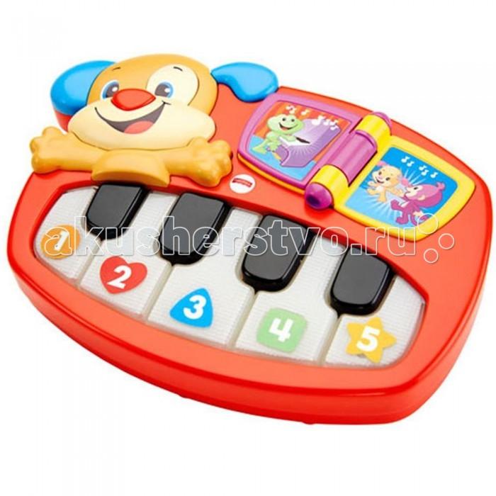 Музыкальная игрушка Fisher Price Смейся и учись Пианино-щенок от Акушерство