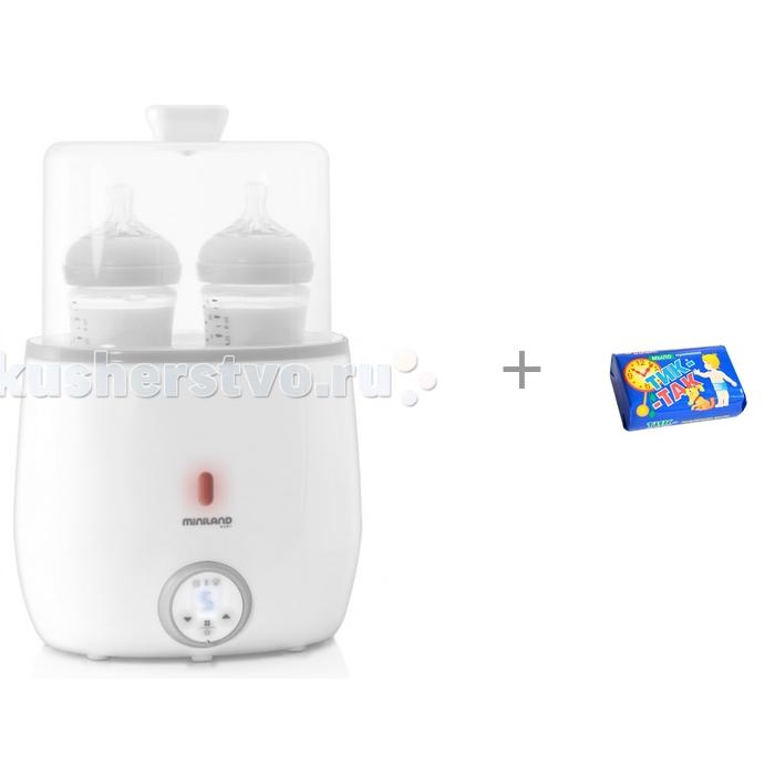 Подогреватели и стерилизаторы Miniland Подогреватель-стерилизатор для 2-х бутылочек Warmy Twin и Свобода Мыло Тик-так 150 г