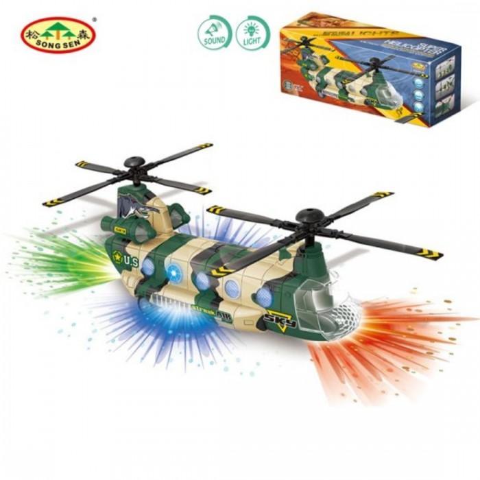 Купить Вертолеты и самолеты, Наша Игрушка Военно-транспортный вертолёт