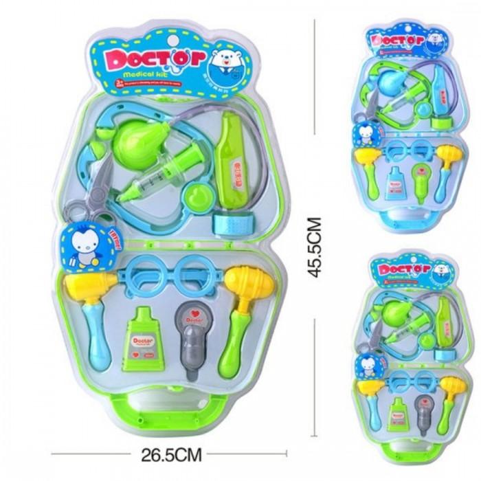 Ролевые игры Наша Игрушка Игровой набор Доктор в чемоданчике (10 предметов