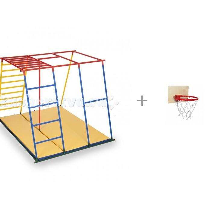 Купить Спортивные комплексы, Ранний старт Детский спортивный комплекс Олимп базовая комплектация и Баскетбольное кольцо со щитом