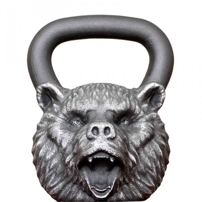 Спортивный инвентарь Iron Head Гиря Медведь 24 кг