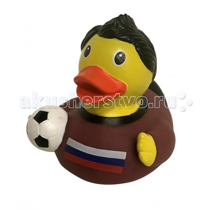 Игрушки для ванны FunnyDucks Игрушка для ванны Уточка российский футболист игрушки для ванной oball игрушка для ванны уточка желтая