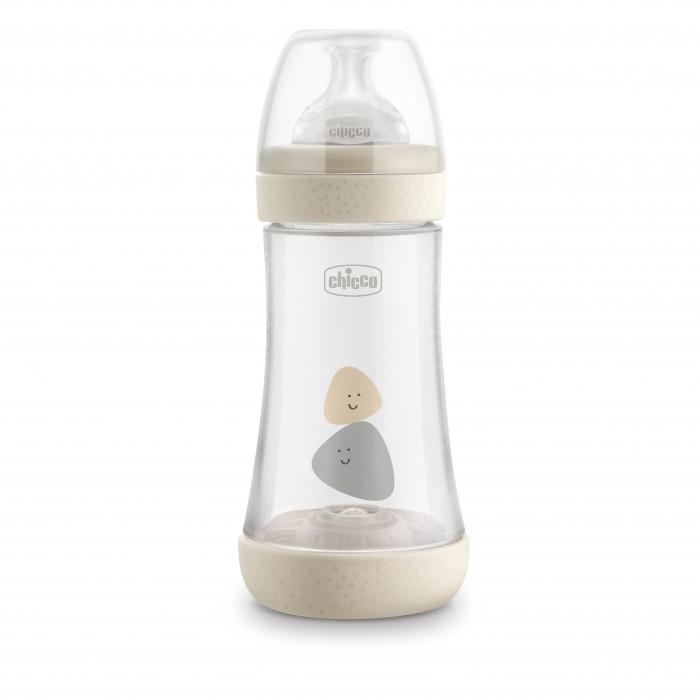 Купить Бутылочки, Бутылочка Chicco Perfect5 Uni с силиконовой соской средний поток с 2 мес. 240 мл
