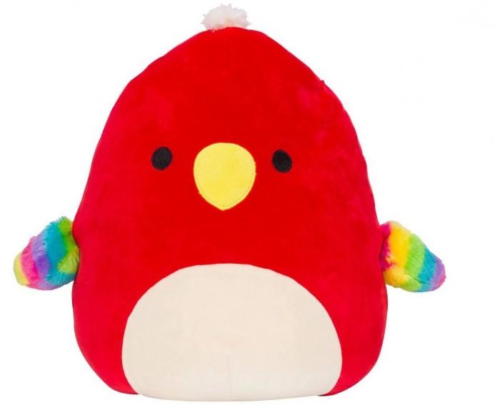 Мягкие игрушки Squishmallows сквиш антистресс Попугай Пако
