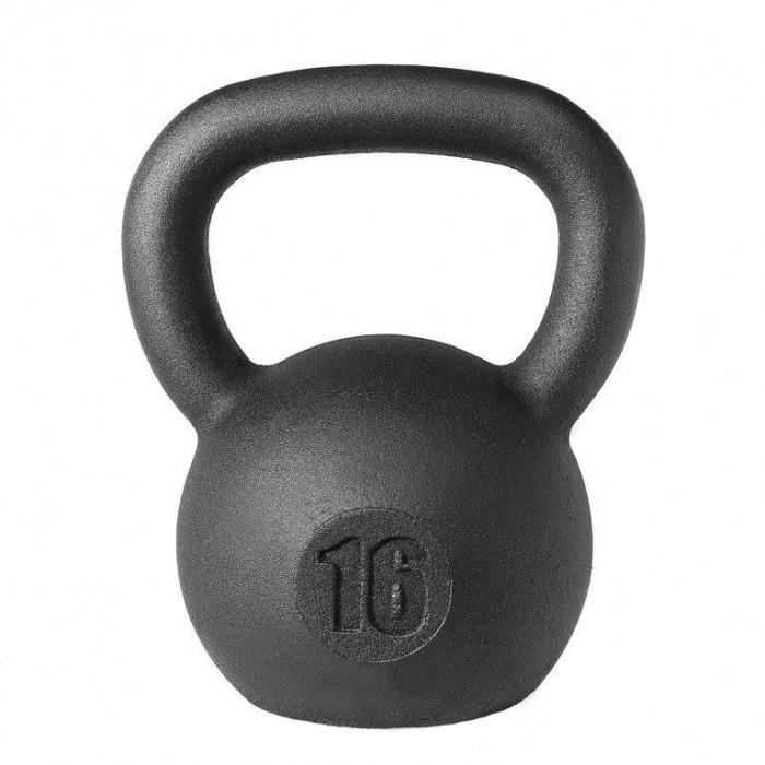 Фото - Спортивный инвентарь Titan Гиря кроссфит 16 кг спортивный инвентарь titan гиря чугунная 32 кг