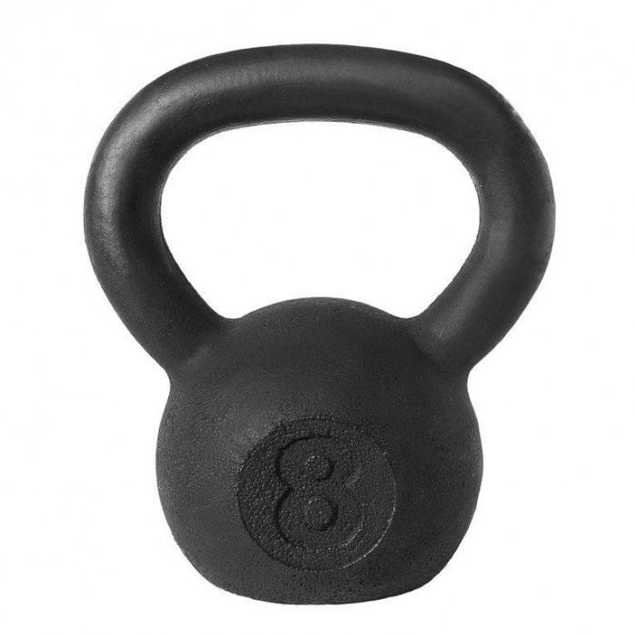 Фото - Спортивный инвентарь Titan Гиря кроссфит 8 кг спортивный инвентарь titan гиря чугунная 32 кг