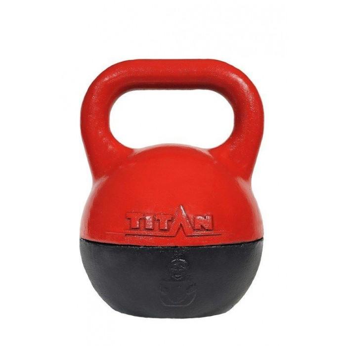 Фото - Спортивный инвентарь Titan Гиря разборная 16/24/32 кг спортивный инвентарь titan гиря чугунная 32 кг