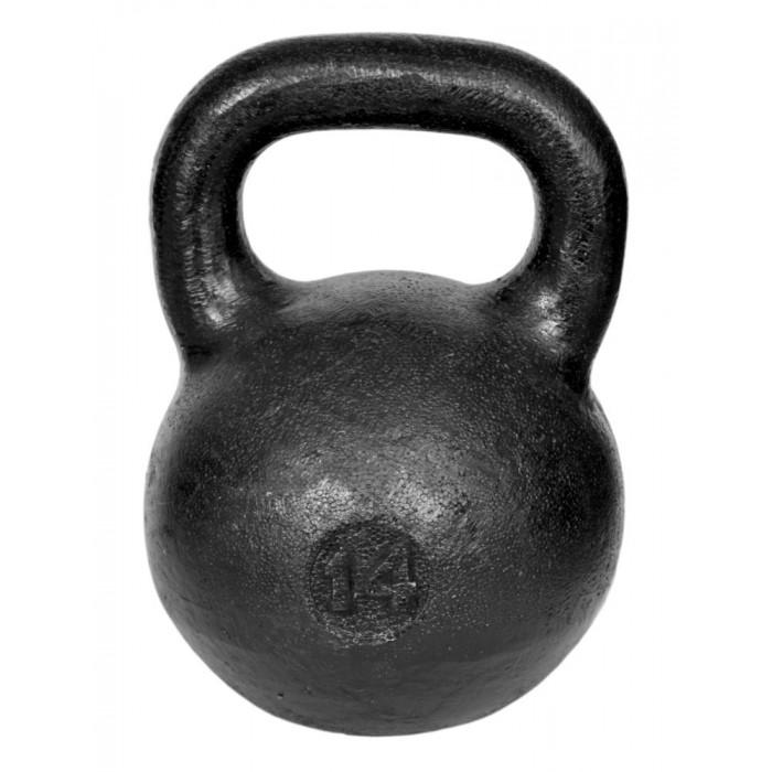 Фото - Спортивный инвентарь Titan Гиря уральская 14 кг спортивный инвентарь titan гиря чугунная 32 кг