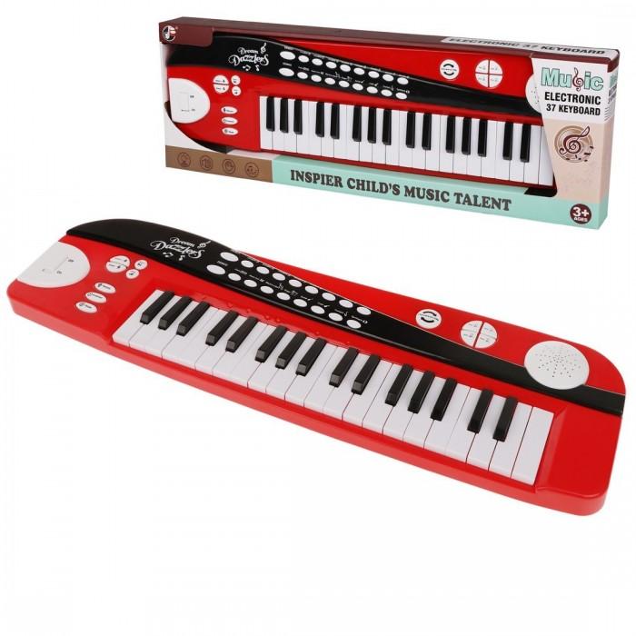 Музыкальные инструменты Наша Игрушка Синтезатор с функцией записи