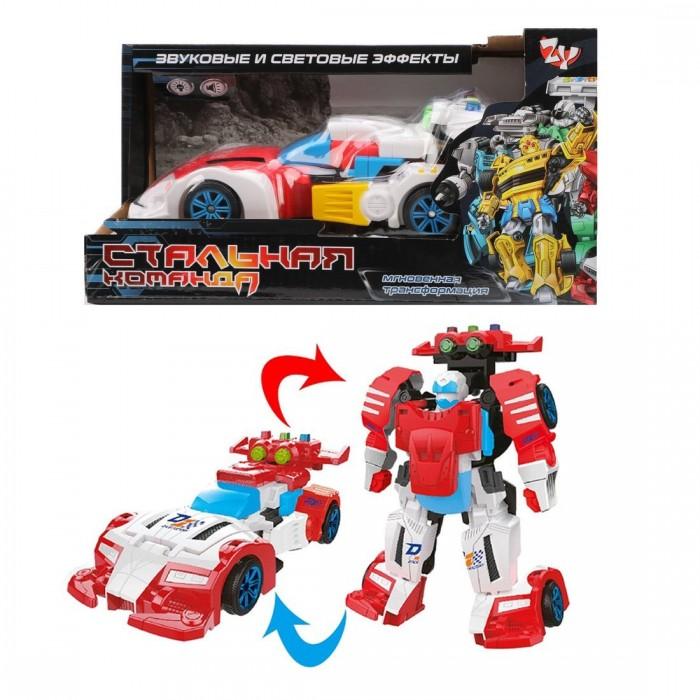 Картинка для Наша Игрушка Трансформер Машина-робот со светом и звуком