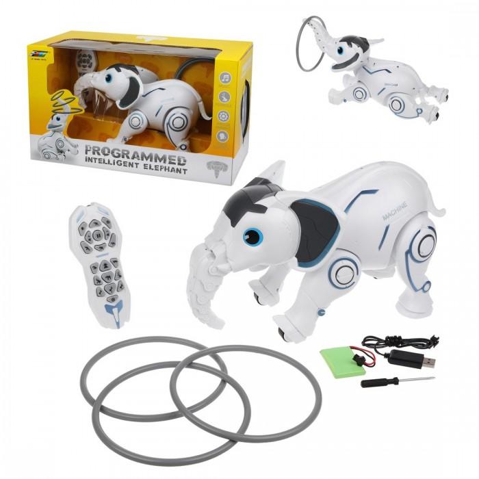 Картинка для Радиоуправляемые игрушки Наша Игрушка Слон со светом и звуком на радиоуправлении