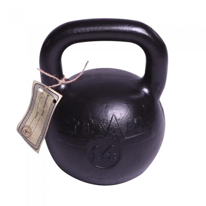 Фото - Спортивный инвентарь Titan Гиря чугунная 14 кг спортивный инвентарь titan гиря чугунная 32 кг