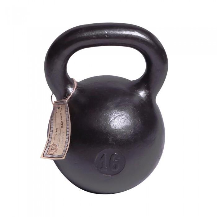 Фото - Спортивный инвентарь Titan Гиря чугунная 16 кг спортивный инвентарь titan гиря чугунная 32 кг