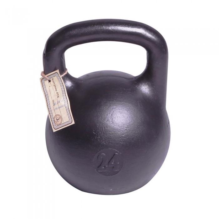 Фото - Спортивный инвентарь Titan Гиря чугунная 24 кг спортивный инвентарь titan гиря чугунная 32 кг