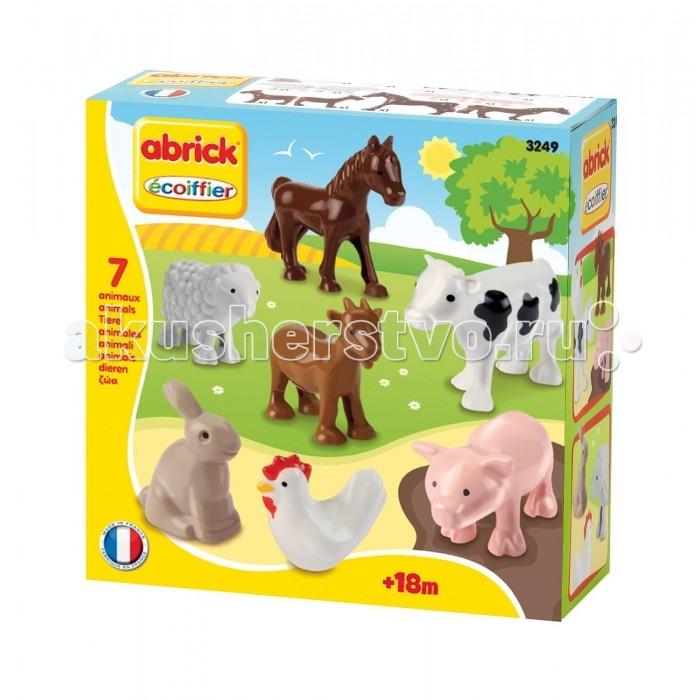 Игровые наборы Ecoiffier Набор животных, 7 предметов набор эм 7 предметов 25 йогурт 984178