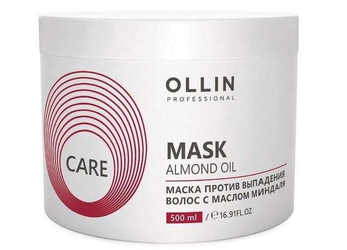 Купить Косметика для мамы, OLLIN Professional Care Маска против выпадения волос с маслом миндаля 500 мл