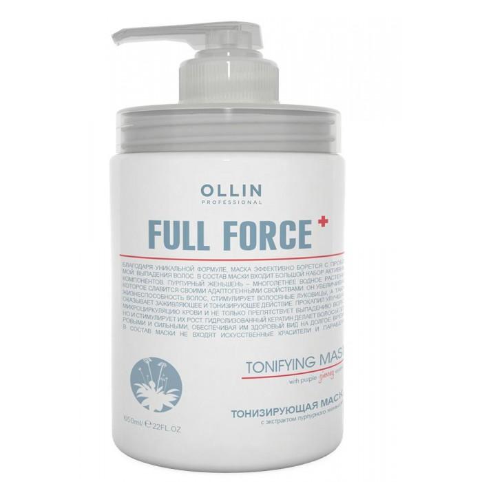 Купить Косметика для мамы, OLLIN Professional Full Force Тонизирующая маска с экстрактом пурпурного женьшеня 650 мл