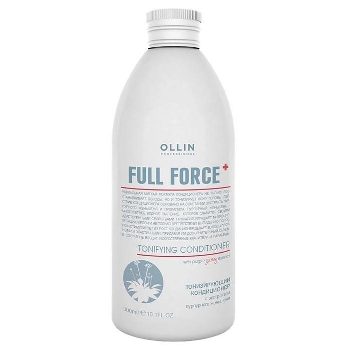 OLLIN Professional Full Force Тонизирующий кондиционер с экстрактом пурпурного женьшеня 300 мл 725768
