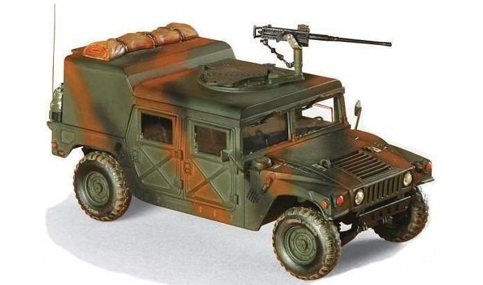 Звезда Сборная модель Американский армейский вездеход Хаммер
