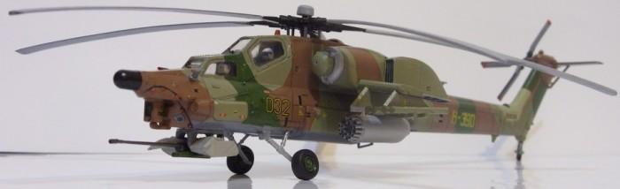Звезда Сборная модель Российский ударный вертолёт Ми-28А
