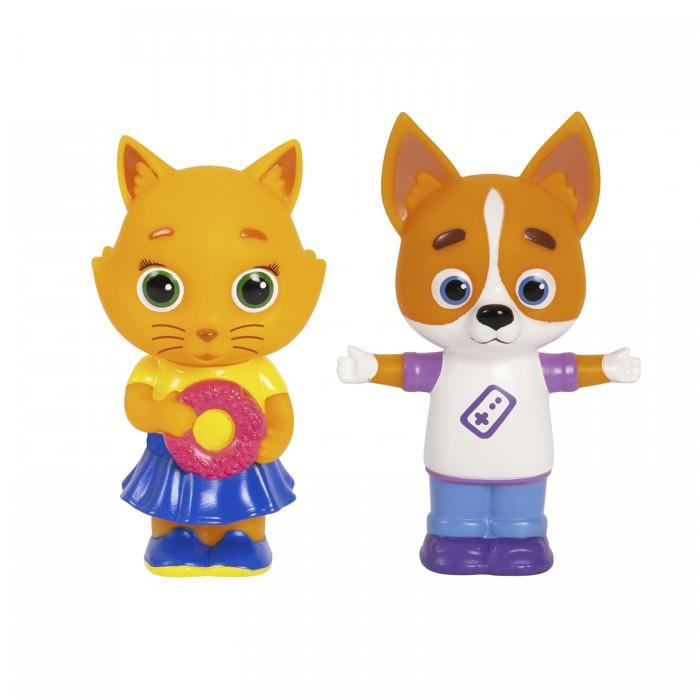 Купить Игрушки для ванны, Кошечки-Собачки Игровой набор Буся и Дэн