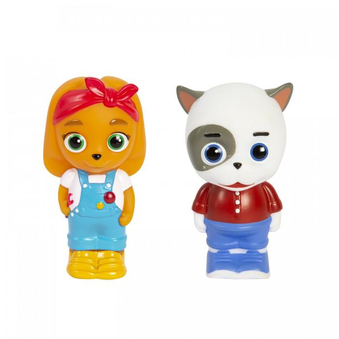 Купить Игрушки для ванны, Кошечки-Собачки Игровой набор Викки и Жоржик