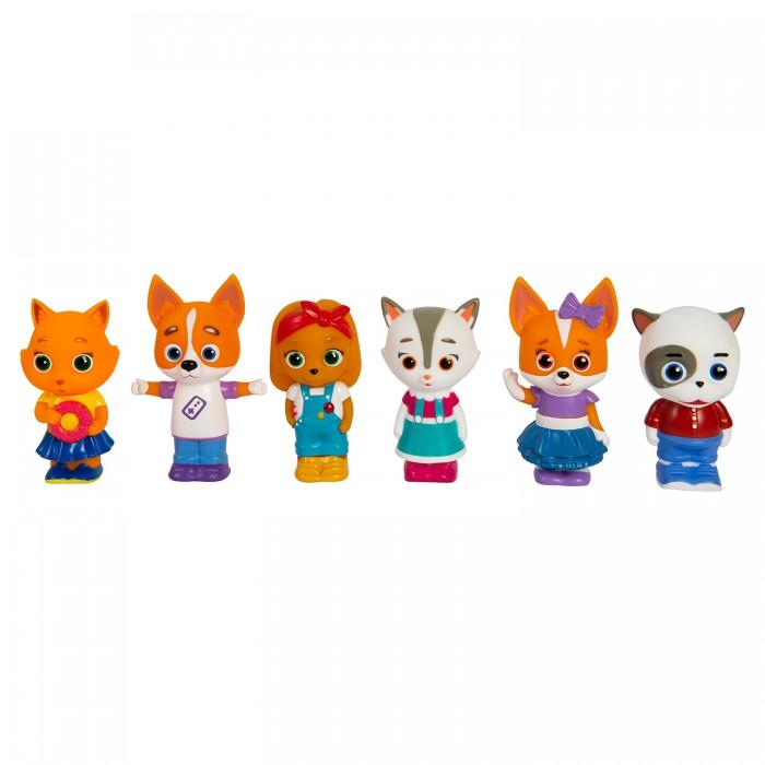 Купить Игрушки для ванны, Кошечки-Собачки Игровой набор (6 предметов)