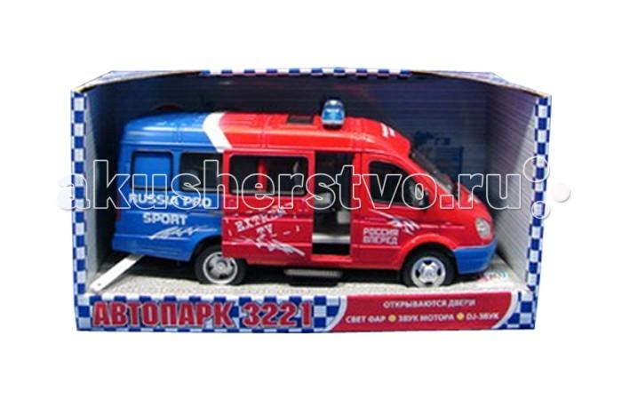 Joy Toy Машина ГАЗ Автопарк 9098-B
