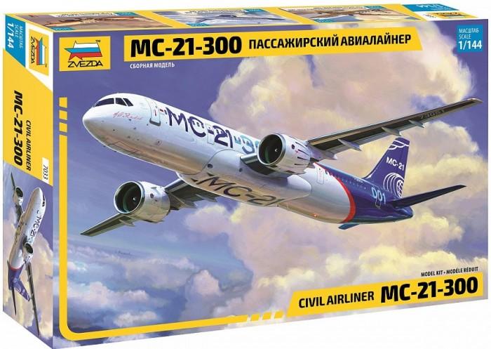 Купить Сборные модели, Звезда Сборная модель Пассажирский авиалайнер МС-21-300