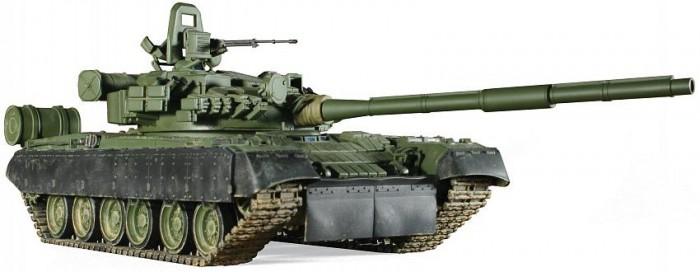 Звезда Сборная модель Основной боевой танк Т-80БВ