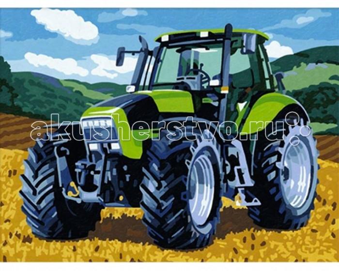 Творчество и хобби , Картины по номерам Schipper Трактор 30х40 см арт: 109096 -  Картины по номерам
