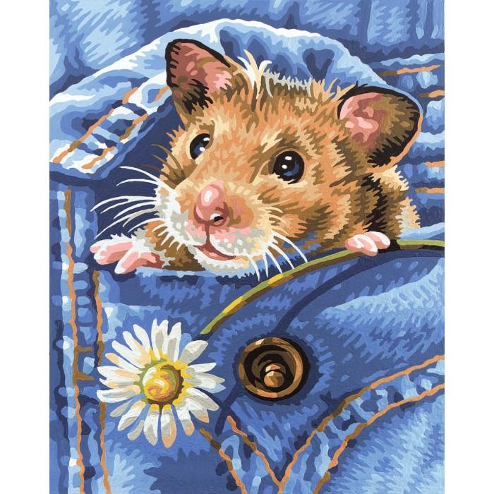Творчество и хобби , Картины по номерам Schipper Хомяк 24х30 см арт: 109120 -  Картины по номерам