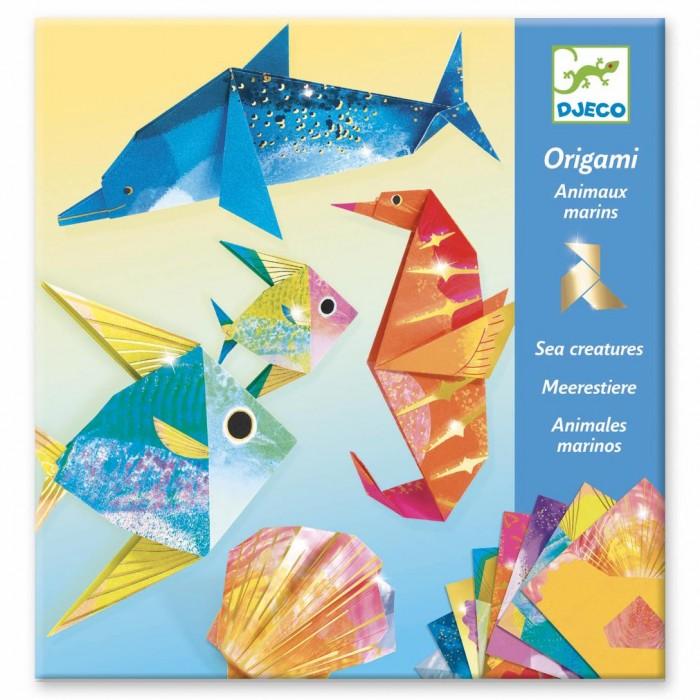 Фото - Наборы для творчества Djeco Набор для творчества Оригами наборы для творчества djeco оригами полярные животные