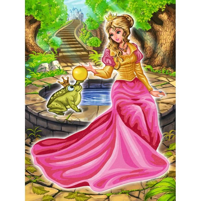 Картины по номерам Schipper Царевна-лягушка 18х24 см раскраски schipper спящая красавица 18х24 см