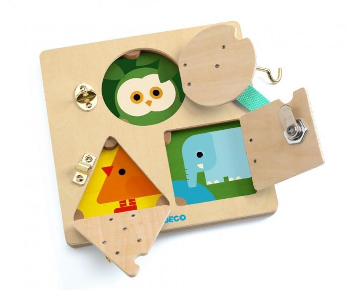 Купить Деревянные игрушки, Деревянная игрушка Djeco Развивающая игра Замочки