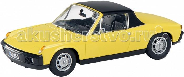 Schuco Автомобиль Porsche 914, желтый 1:43