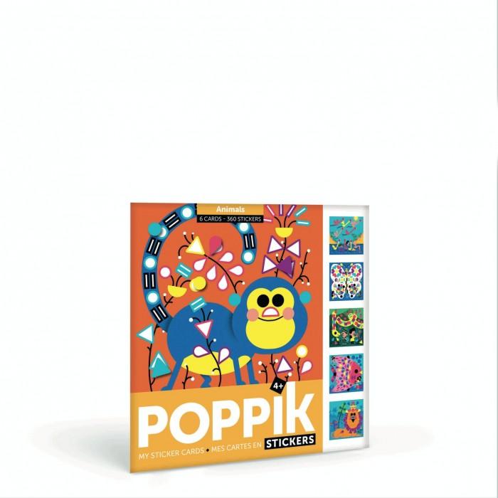 детские наклейки Детские наклейки PoppiK Мои наклейки Животный мир