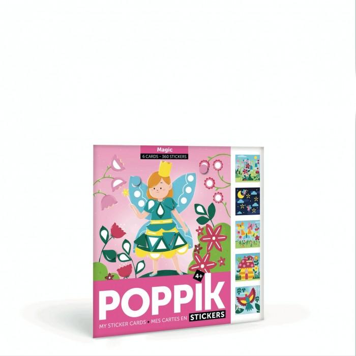детские наклейки Детские наклейки PoppiK Мои наклейки Волшебный мир