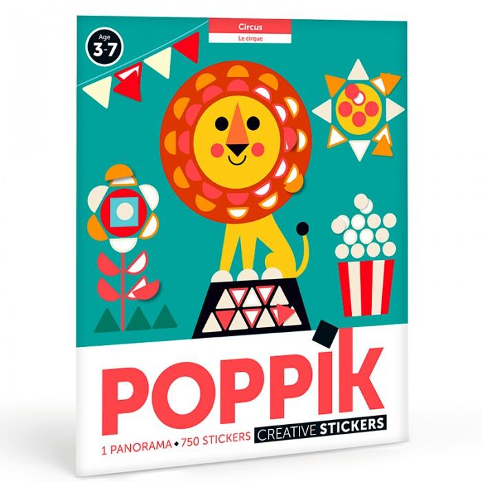 Картинка для PoppiK Стикер мозаика Цирк