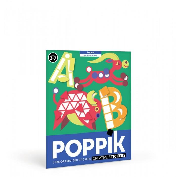 Картинка для PoppiK Стикер мозаика Алфавит английский
