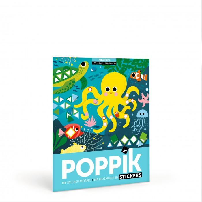 PoppiK Стикер мозаика Подводный мир MAT004