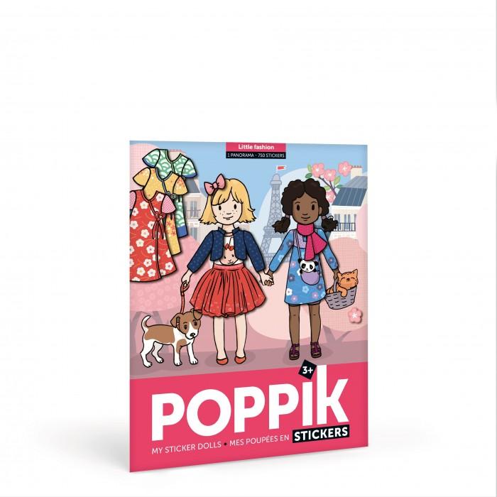 Картинка для PoppiK Стикер мозаика Модный гардеробчик